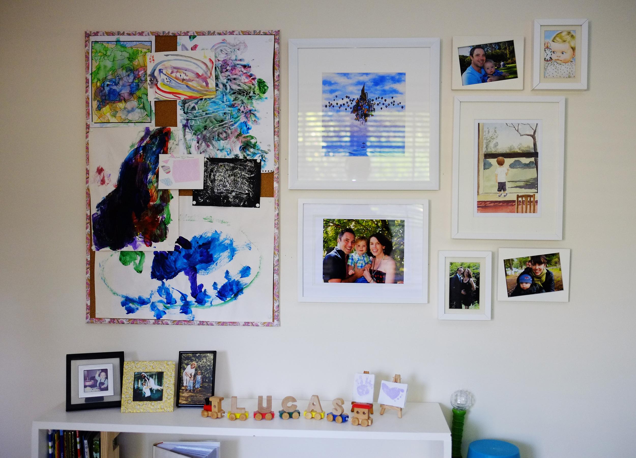 artwork display boards