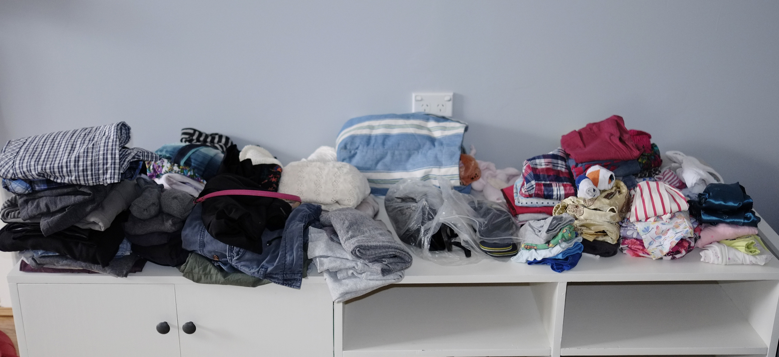 Clothes for packing
