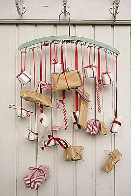 Hanging Presents Advent Calendar