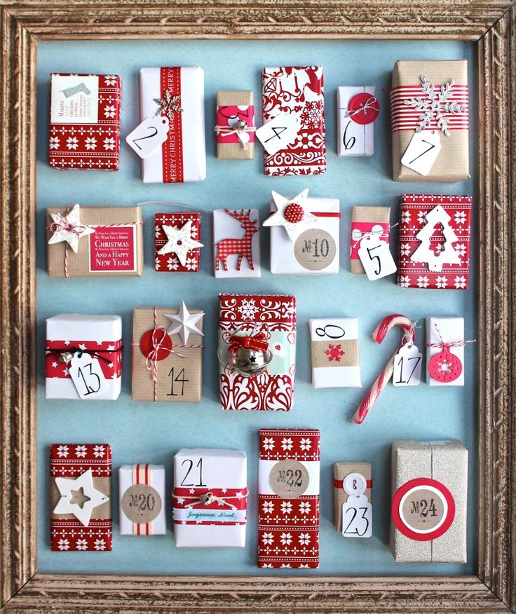 Present Boxes Advent Calendar