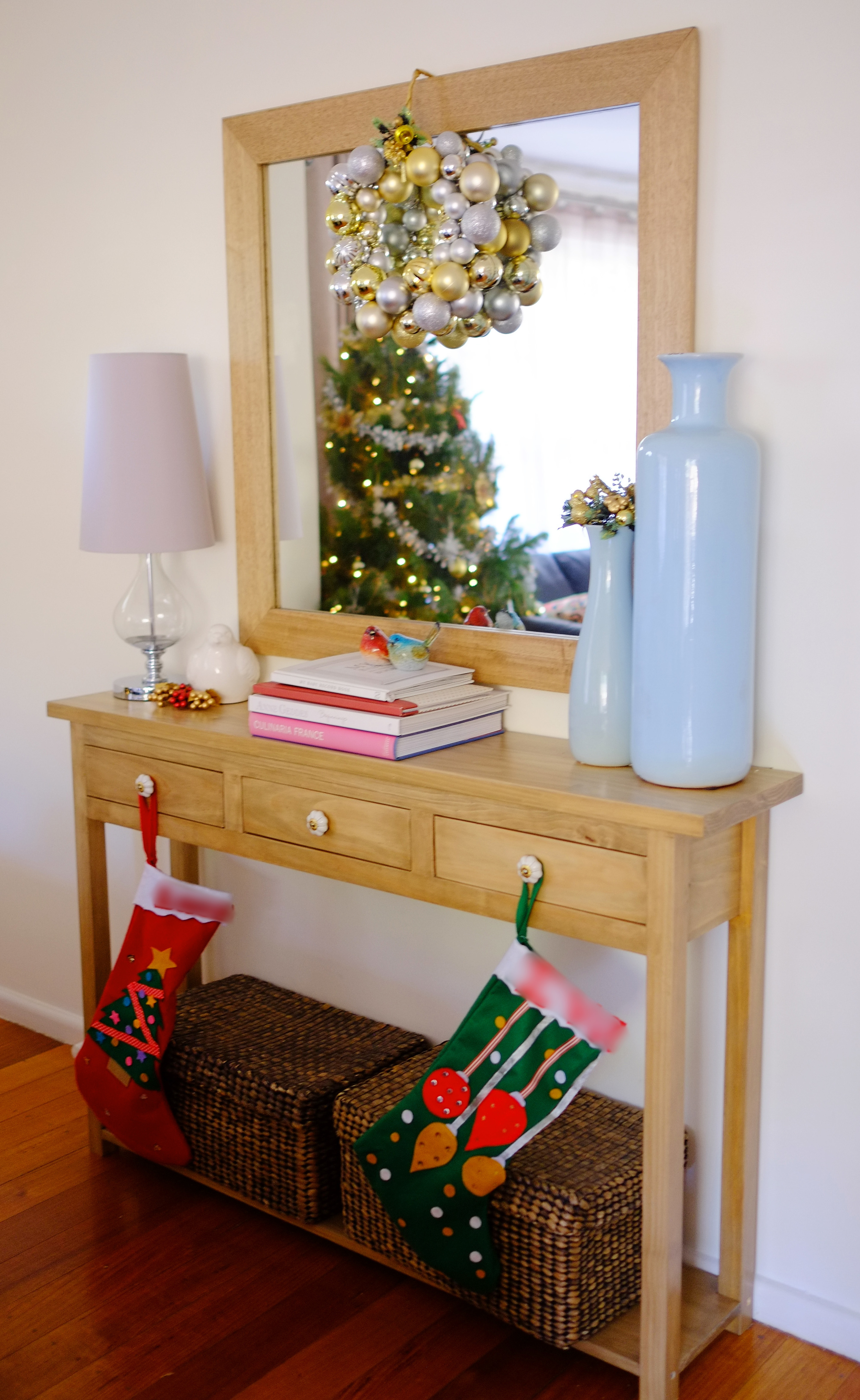 christmas console