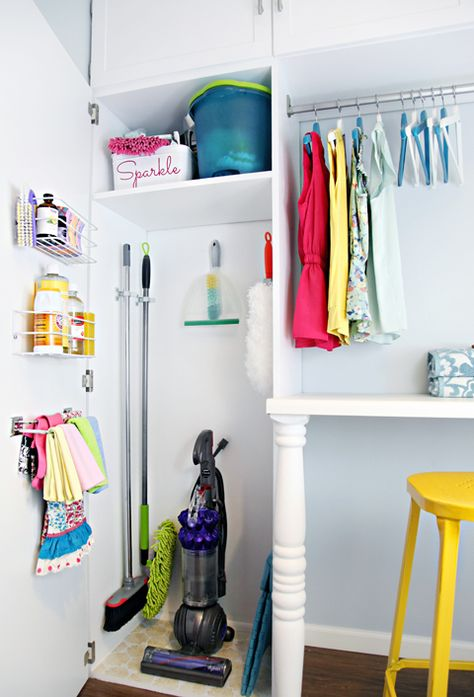Cleaning storage ideas