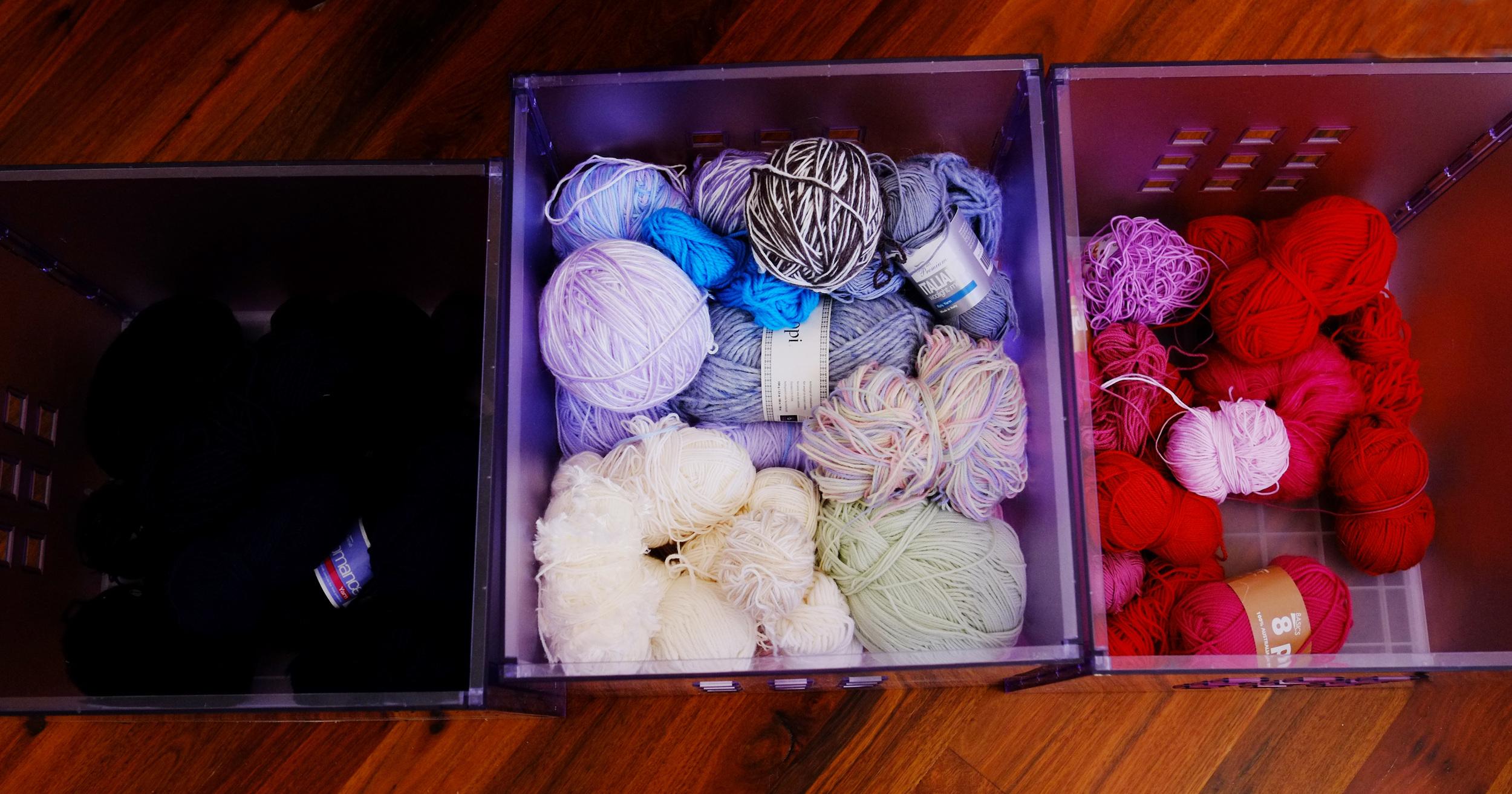 sorting wool