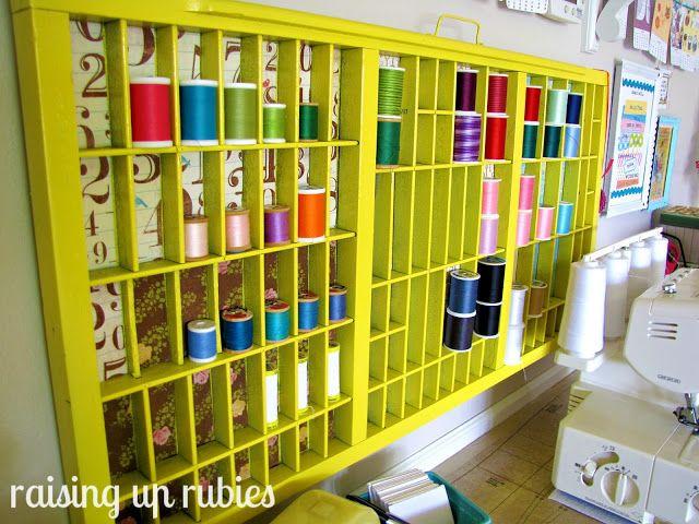 organising thread display