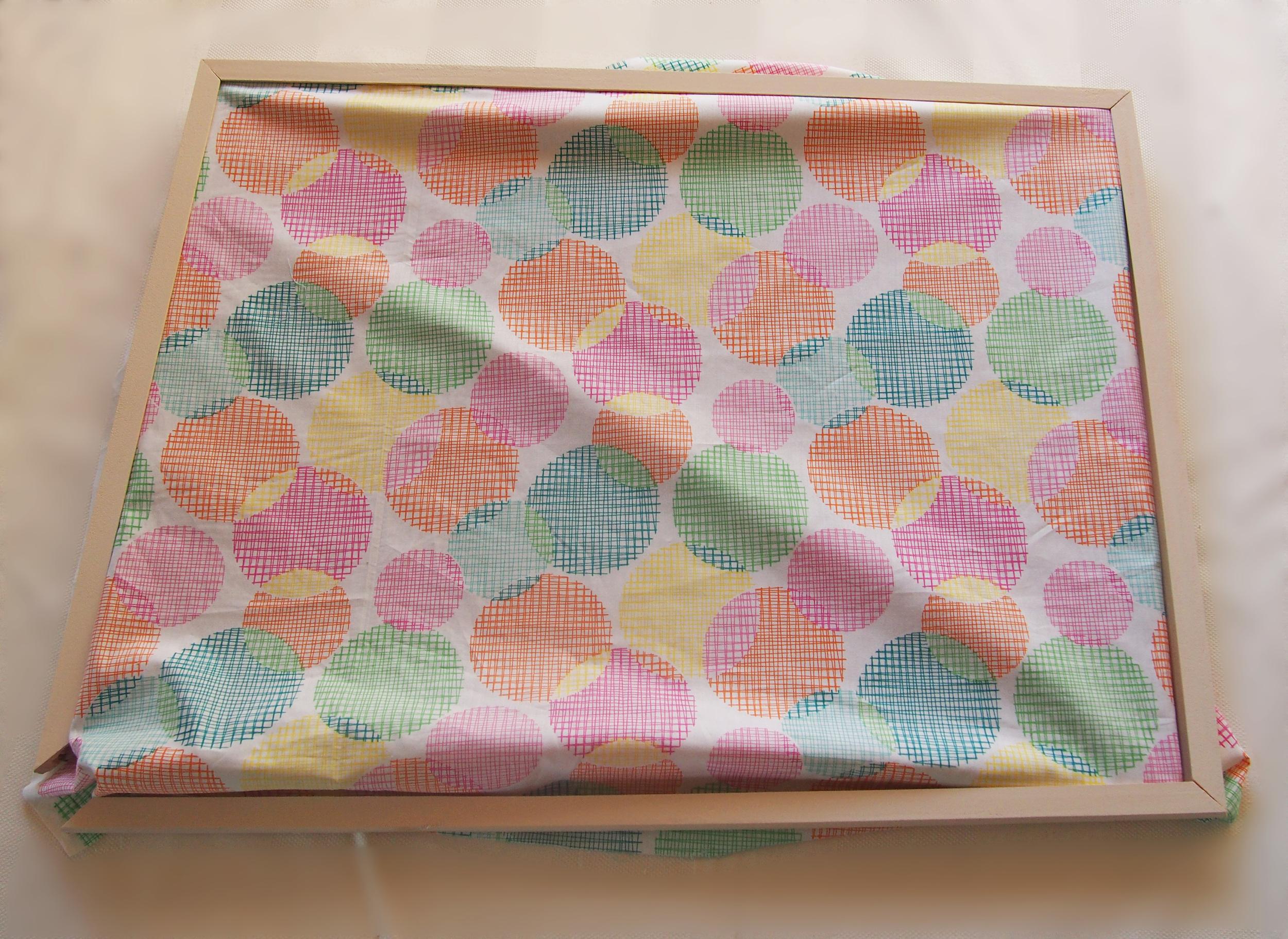 attaching fabric