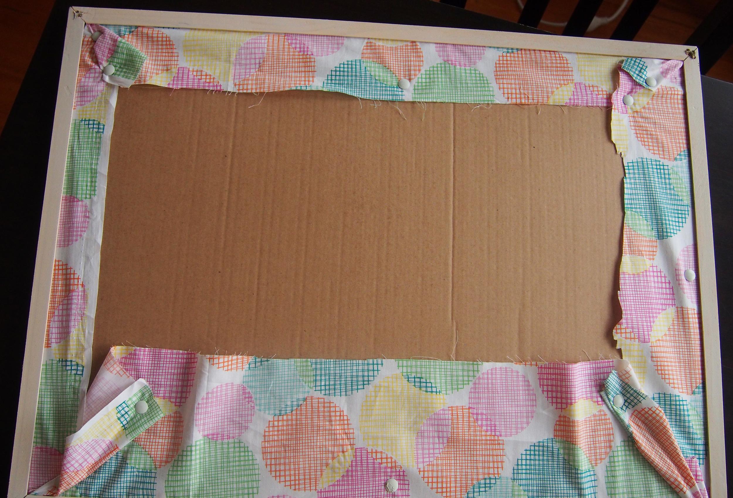 back of cork board