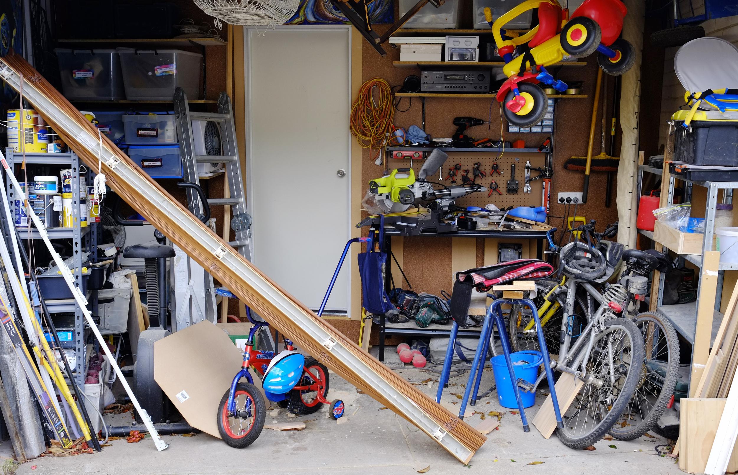 garage pre-makeover