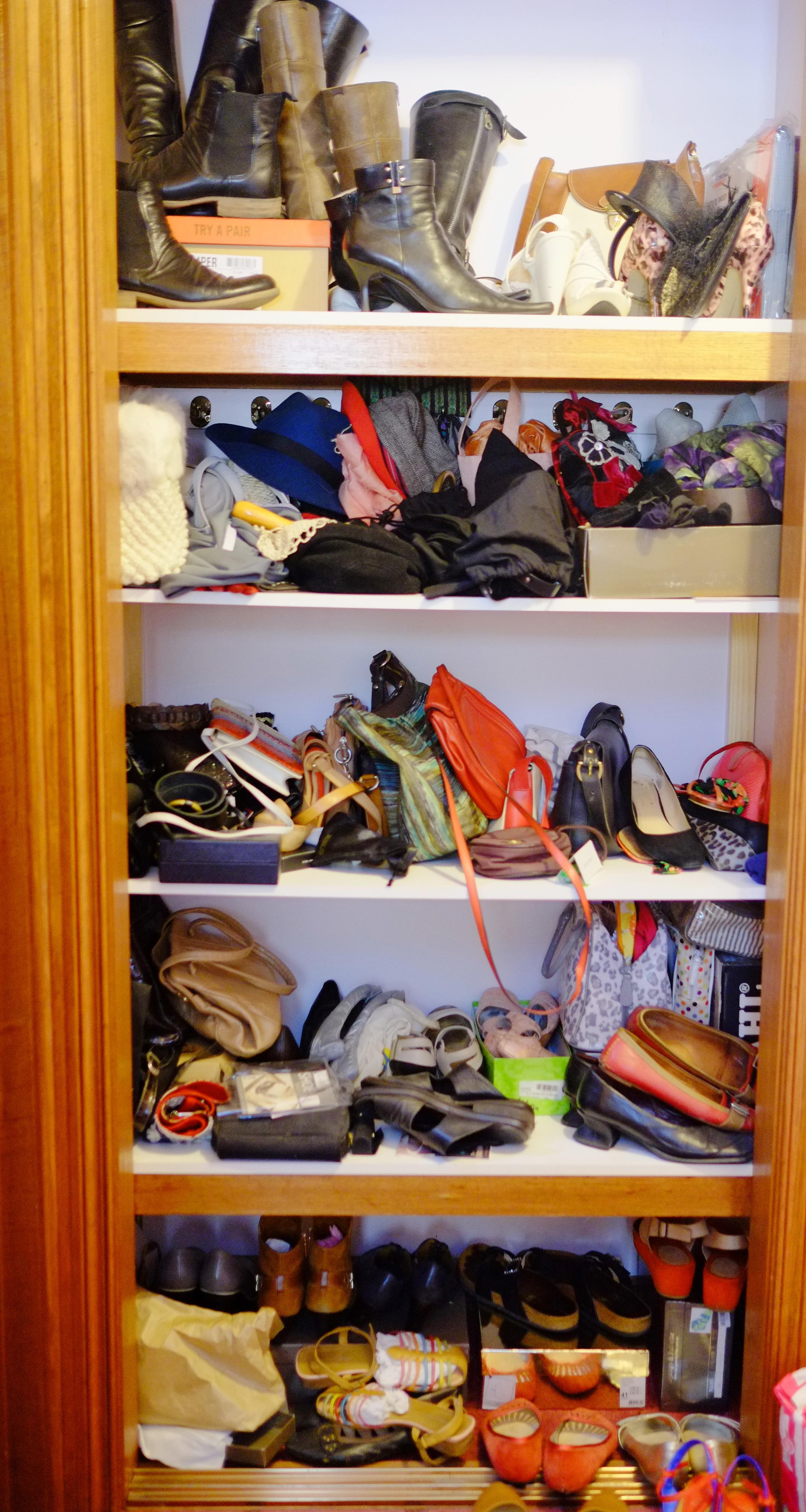 disorganised shoes