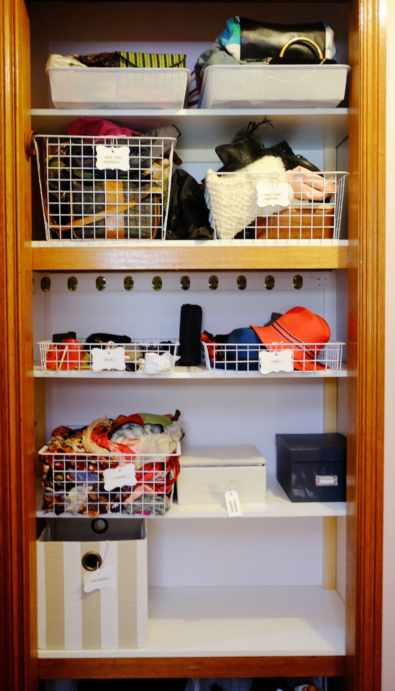 organised closet
