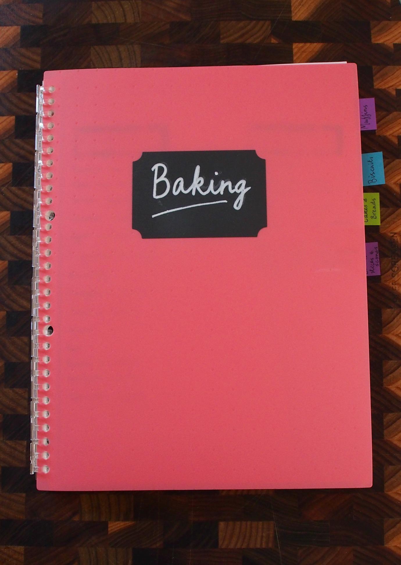 baking binder