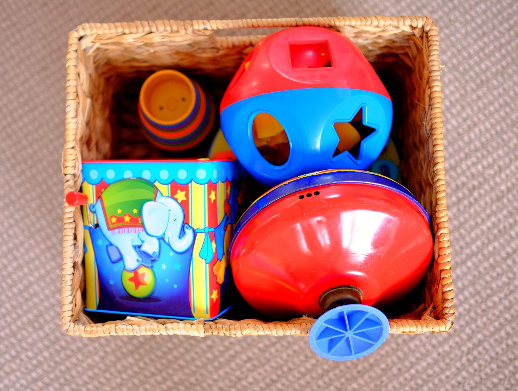 building toy basket