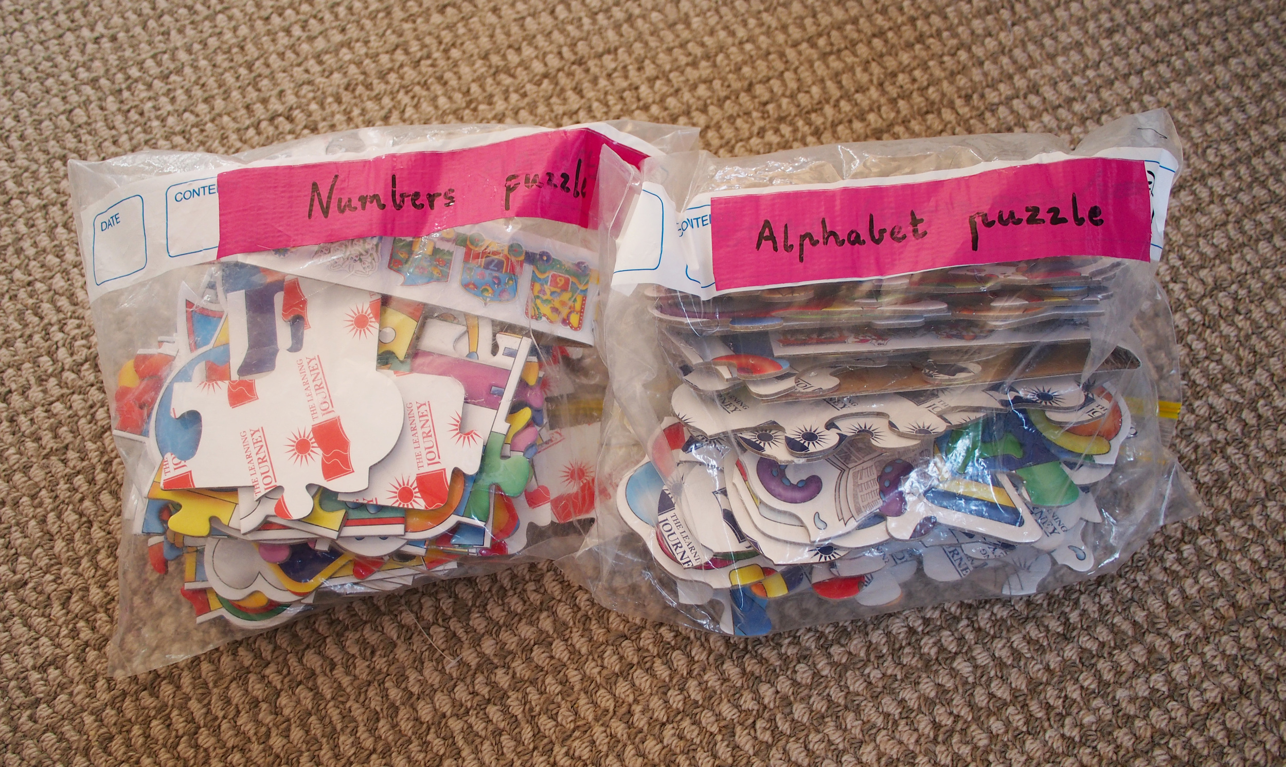 bagged puzzles