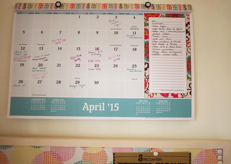 calendar planning overview