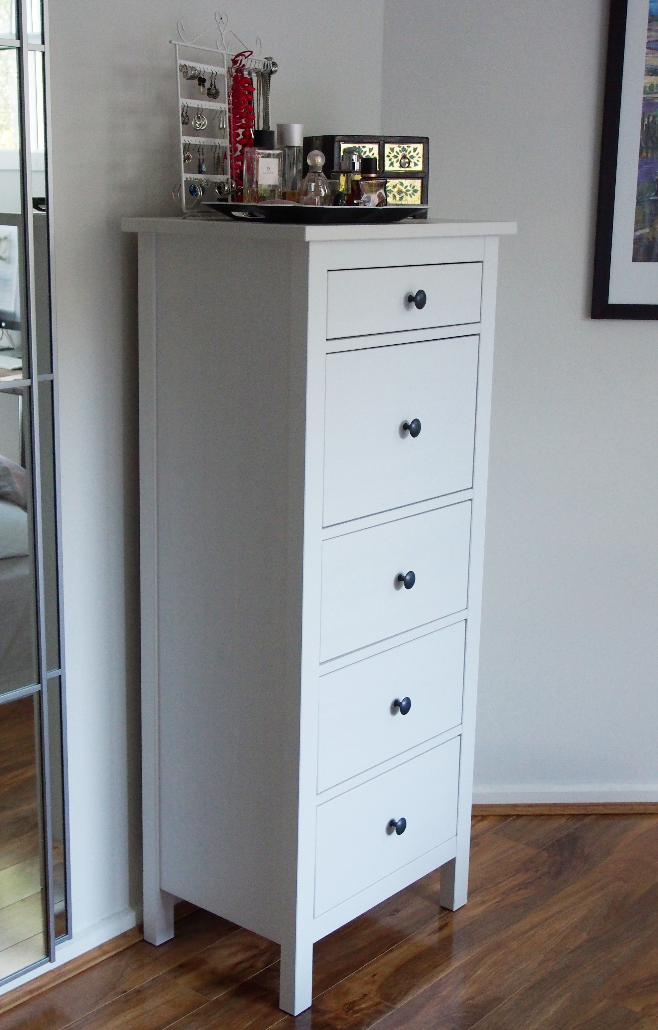 chest of drawers for added wardrobe storage