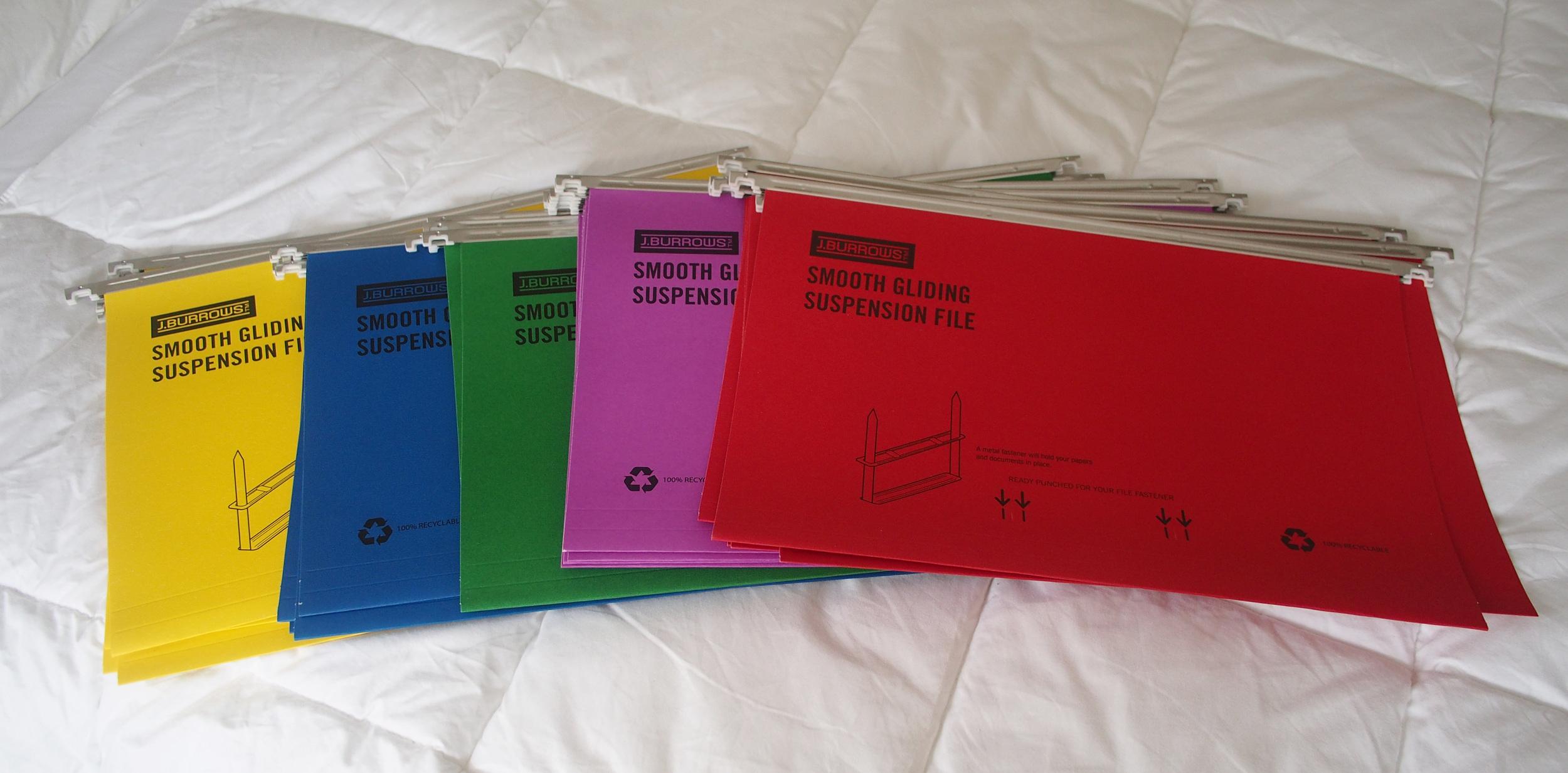 files for organising paperwork