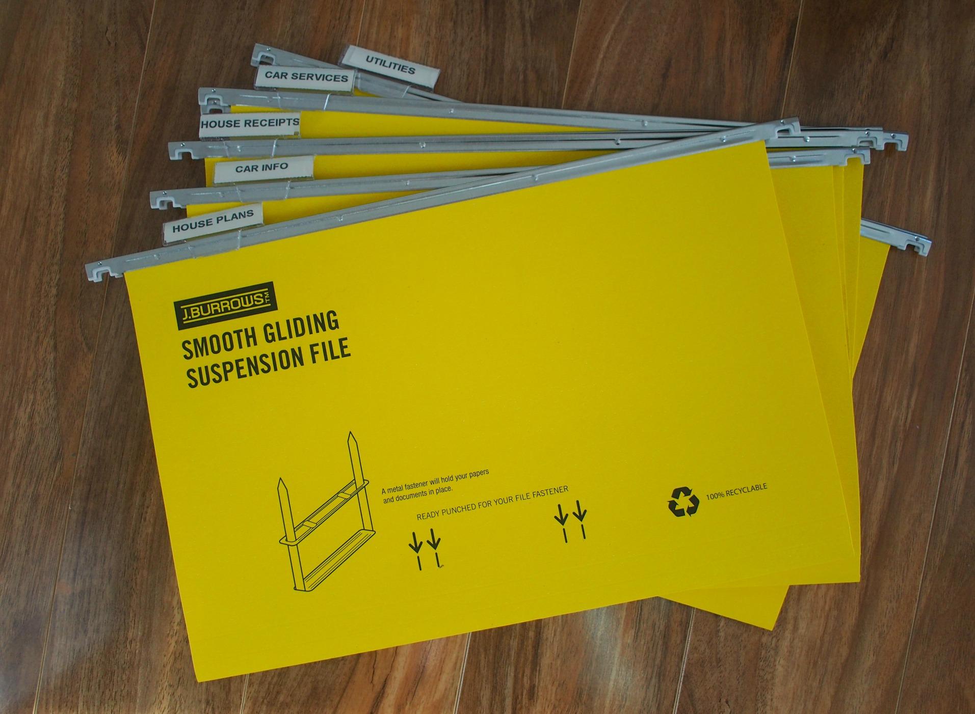 organised paperwork system
