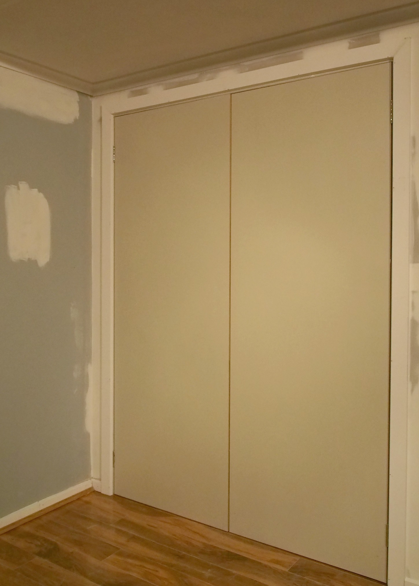 new cupboard build