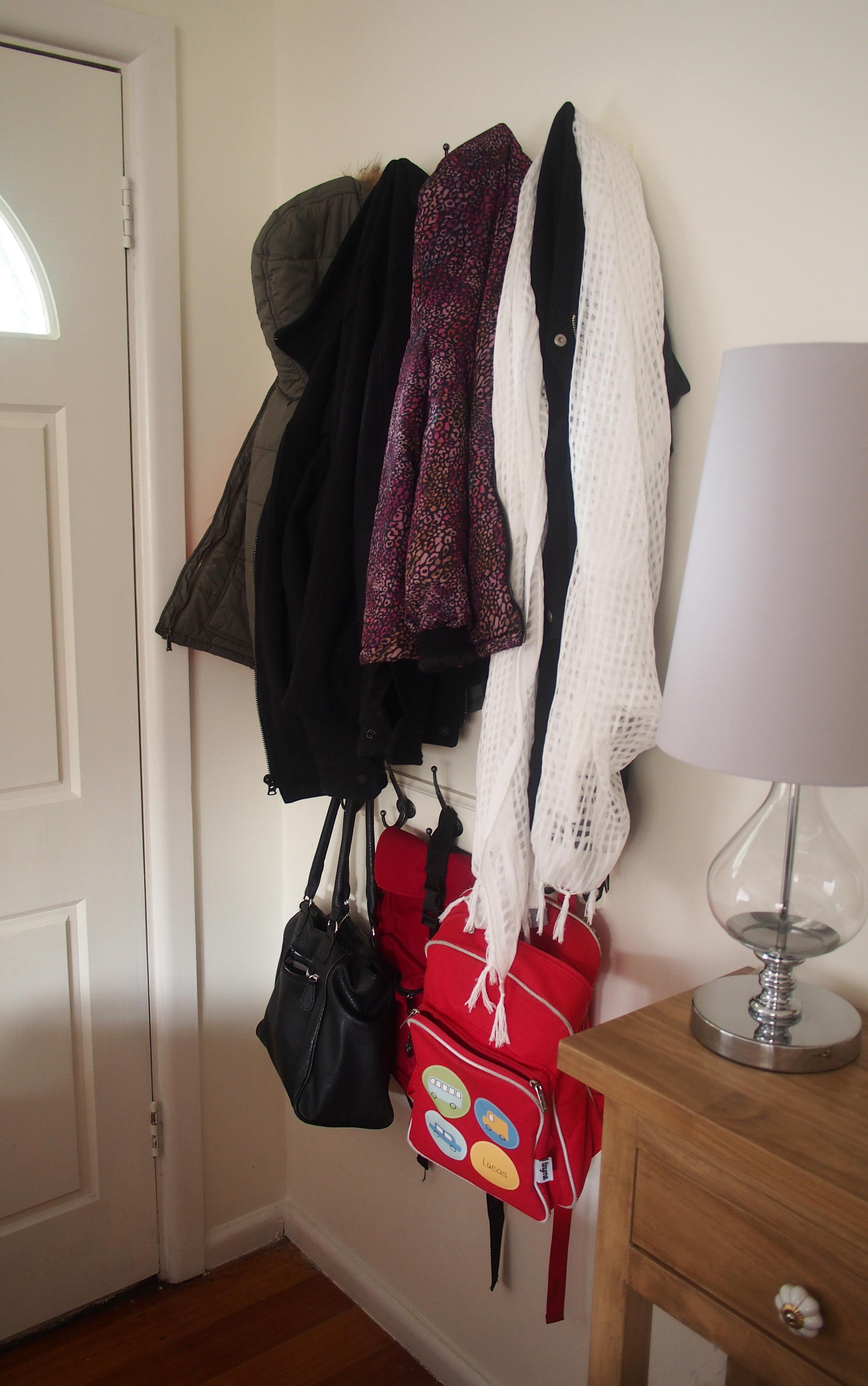 hooks for organising