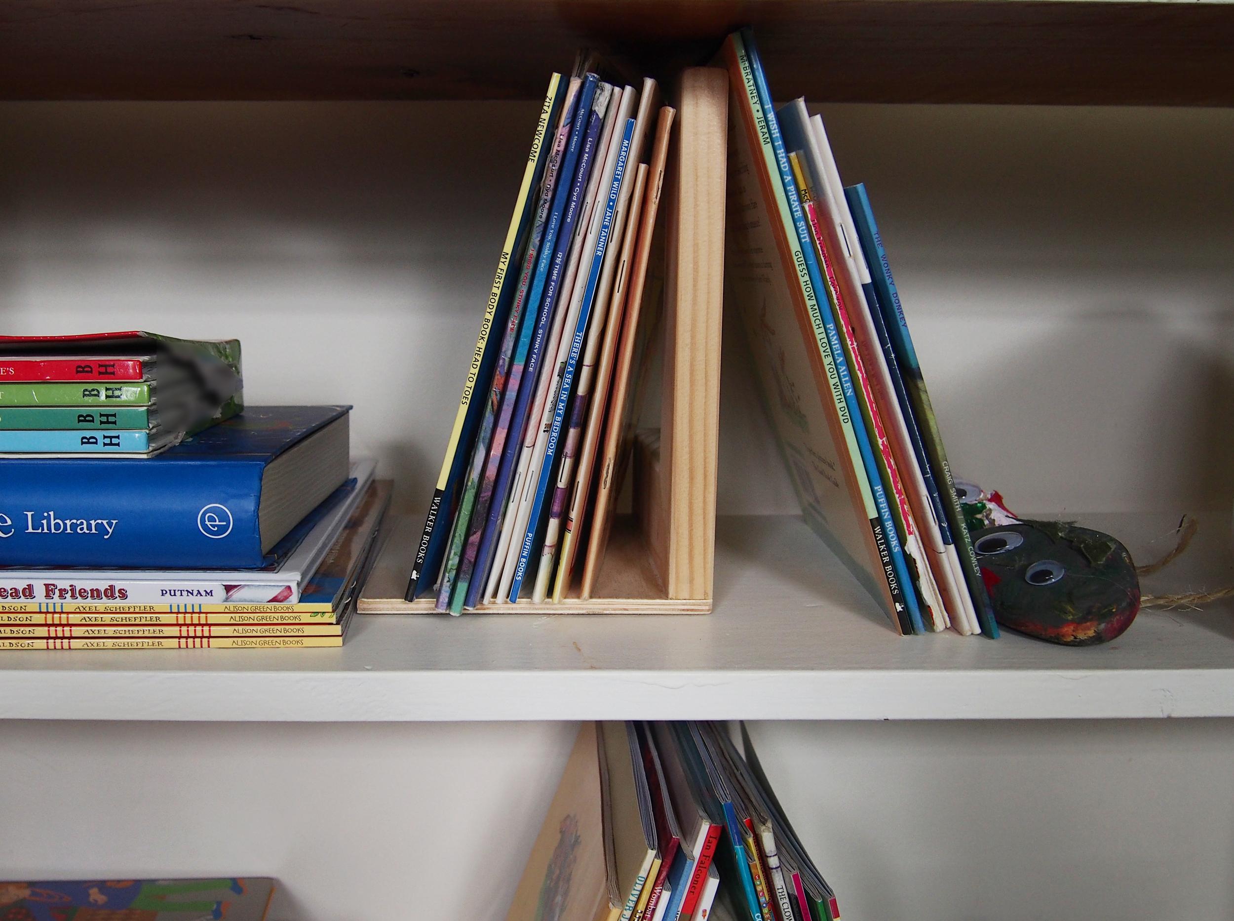 organised kids' books