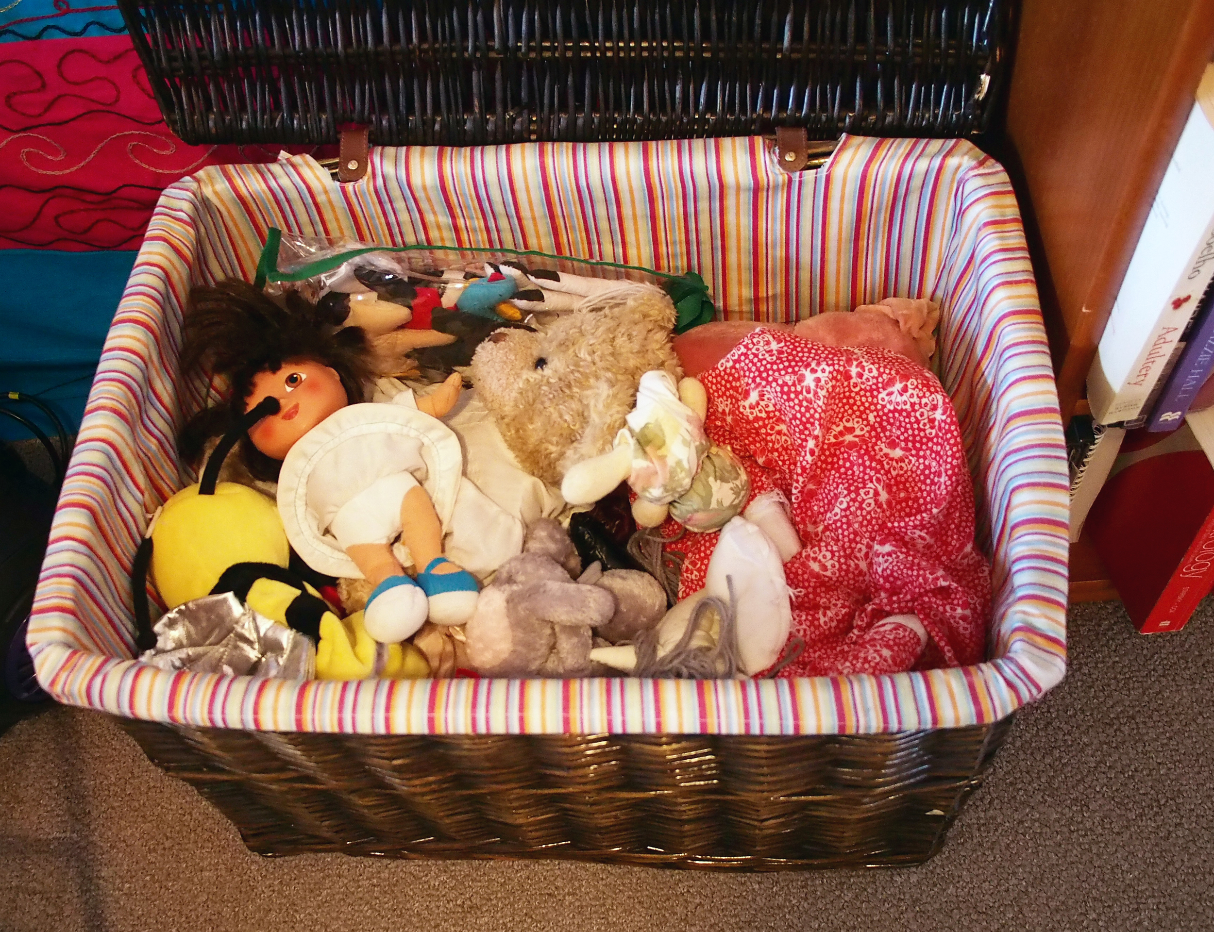 soft toy collection organised