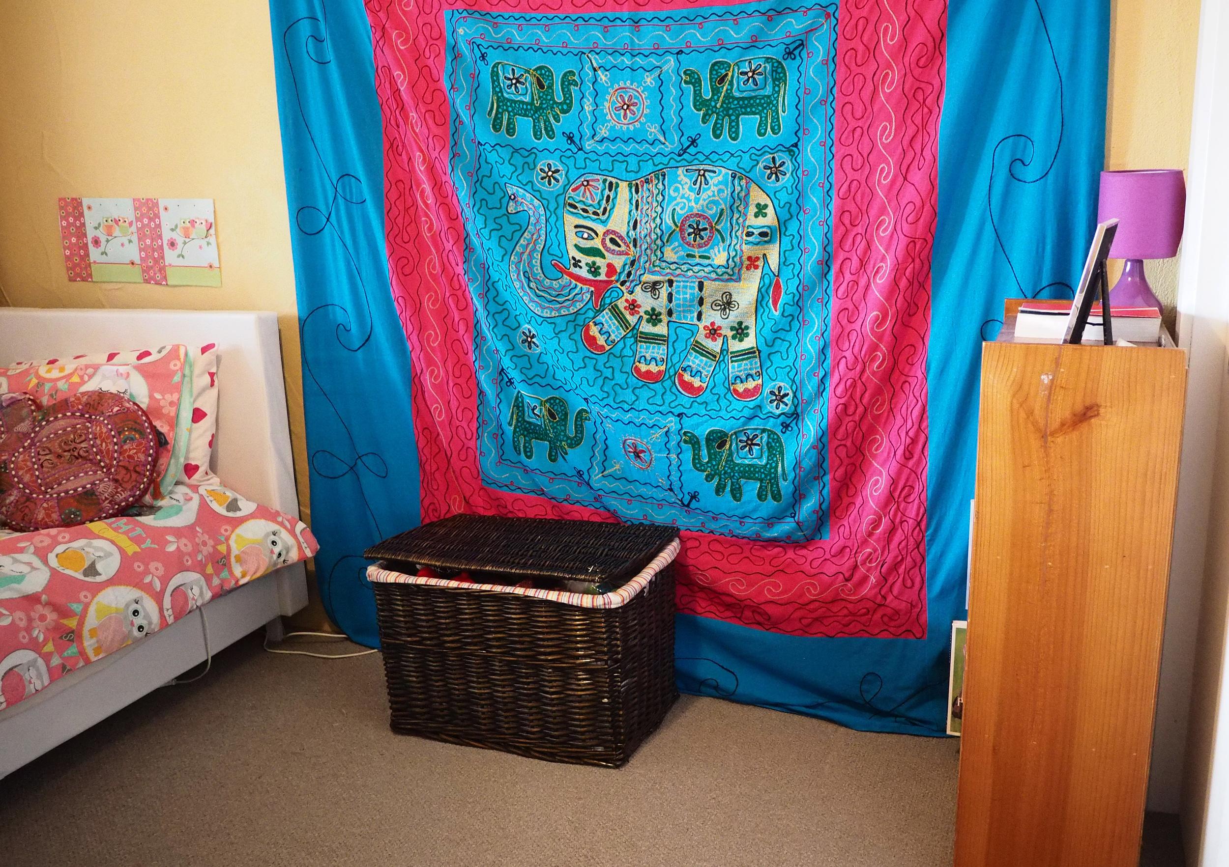 organised spare room