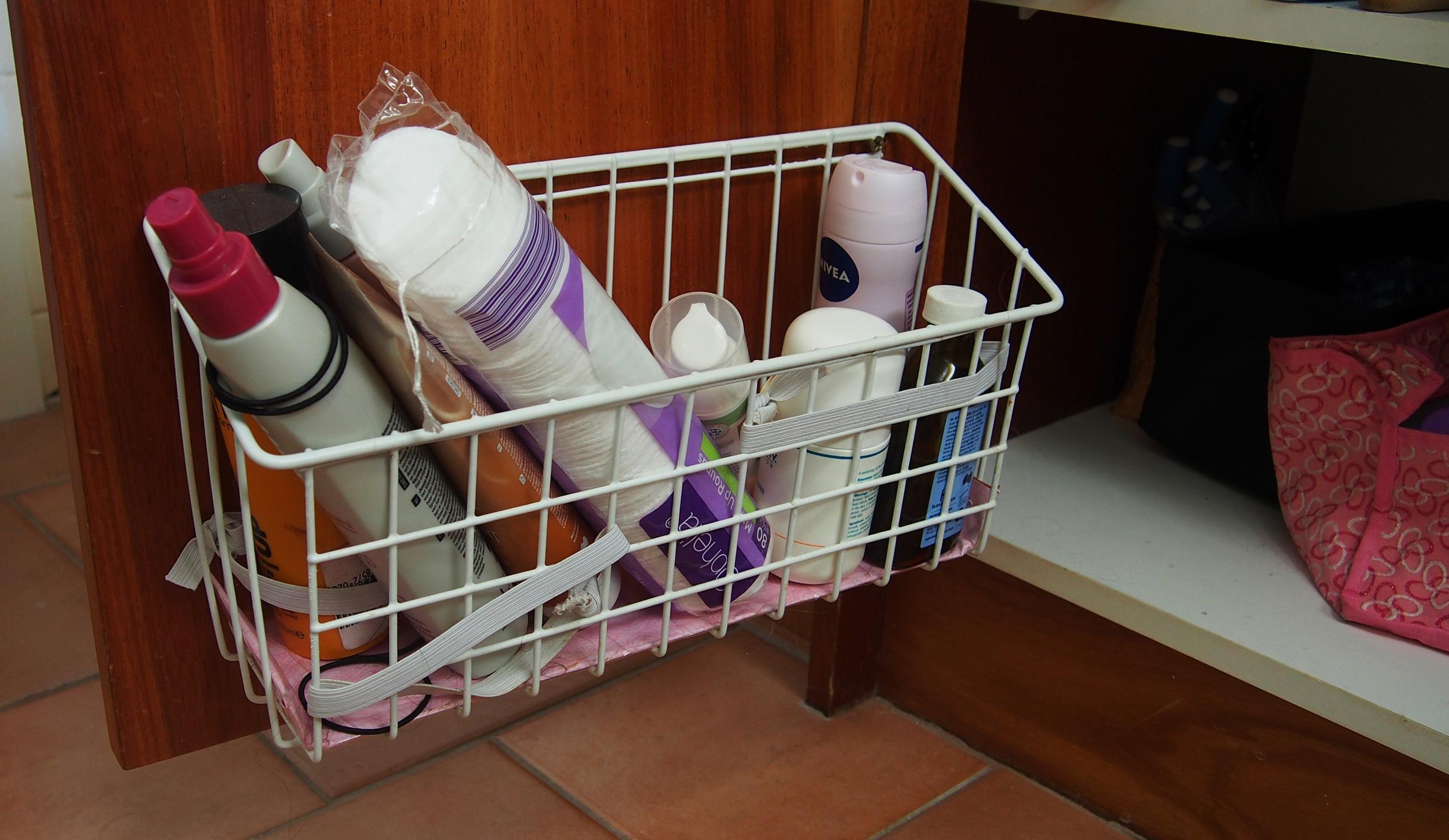 disorganised beauty supplies
