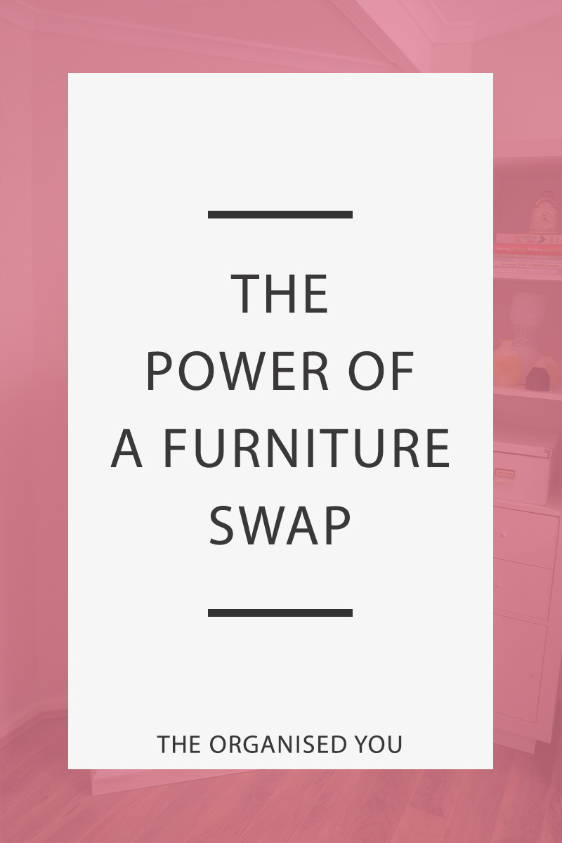 The Power of a Furniture Swap - a furniture swap in your home can often lead to huge benefits throughout the rest of your home that you may never have thought of! Taking a look around your home to see if different pieces of furniture would work better in other rooms can lead to a fresh outlook and possible increased storage space. Click through to see how our furniture swap led to all of these things!