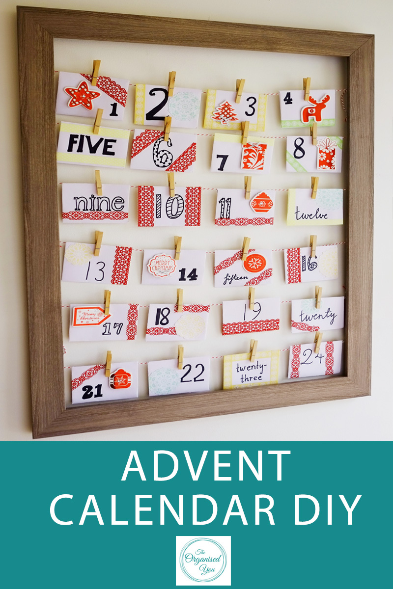 Advent Calendar DIY - making your own Advent Calendar is a really fun process, and the kids will love having a fun Christmas activity to open each morning. Ensure you're having quality time with your family this Christmas by coming up with some fun activiites that you can all take part in. Click through to read the full post and grab your FREE download of 70 fun Christmas activities for the advent calendar