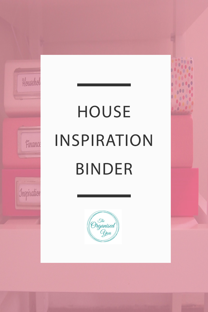 House Inspiration Binder - if you're planning a renovation, or even just like making changes to your home, then keeping a hard-copy collection of beautiful images can be a great idea. Sometimes flipping through a hard-copy of pictures can be more satisfying than digital images as you can see the detail and have the ideas right in front of you. Click through to read the full post on how I set up an organised house inspiration binder!