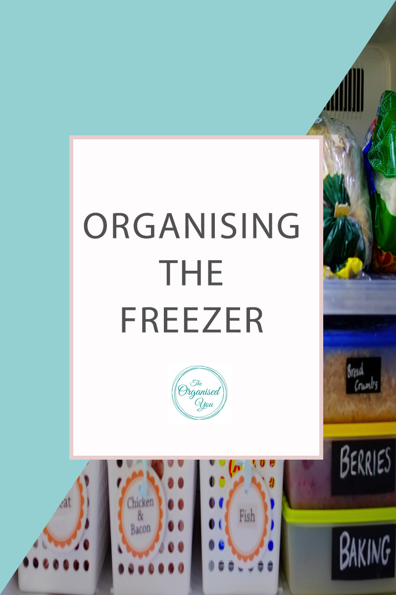 organising the freezer