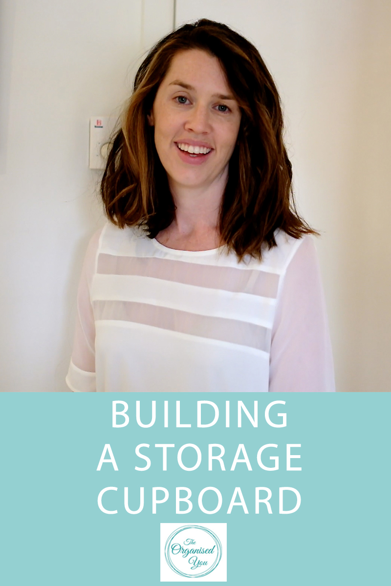 how to build a storage cupboard