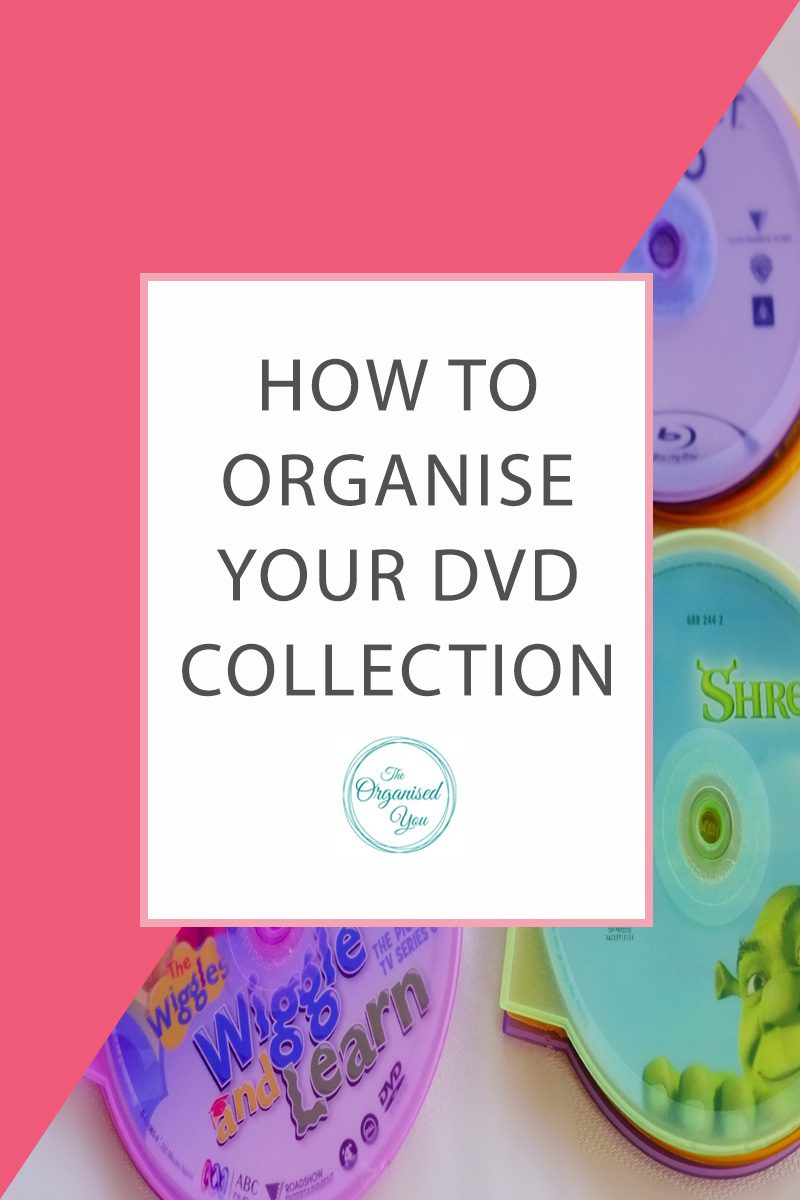 How to Organise Your DVD Collection - do you have a huge collection of DVDs taken up a massive amount of precious storage-space in your home? Click through to read how to organise and store your DVDs so they are neat, contained and not taking up a lot of storage space
