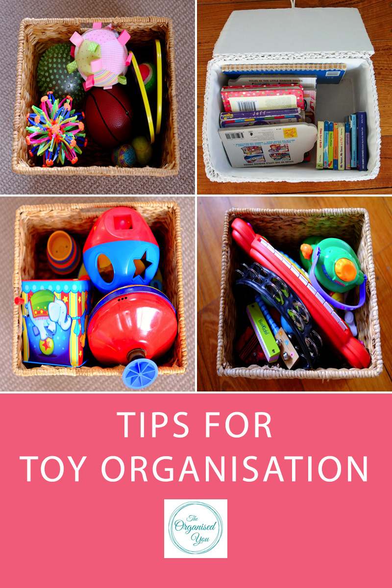 Tips for Toy Organisation - sometimes it can feel like the kids' toys are taking over the house! Today's post is perfect for busy mums trying to get the huge collection of toys decluttered, organised and under control! Click through to read the full post