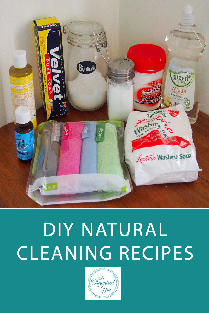 DIY Natural Cleaning Recipes - making the switch to all-natural cleaners around your home is a great way to save money, and make sure there are no nasty chemicals that could cause harm to you [and your children] if used incorrectly. Click through to read the all-natural cleaning recipes I created for using around my home to leave it sparkling clean and smelling wonderful, along with the knowledge that these products are safe for my kids to use and help with the cleaning too