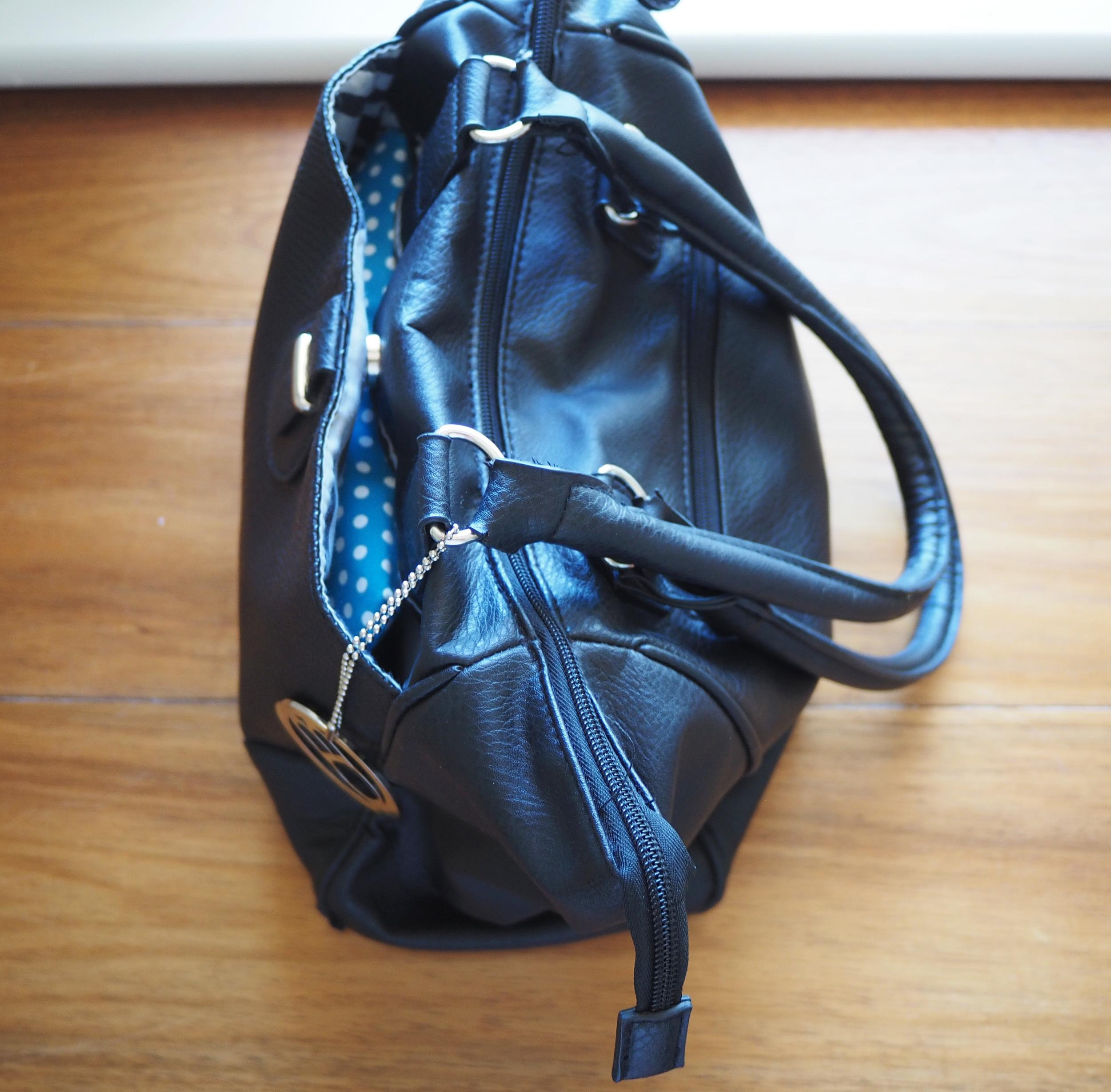 organised handbag