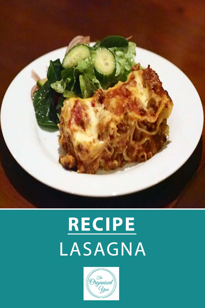 Recipe: Lasagna - lasagna is a perennial favourite with kids, and this recipe is no exception! A beautiful dish to create on the weekend when you have a bit more time in the kitchen, and great for leftovers too. Click through for your FREE recipe printable.