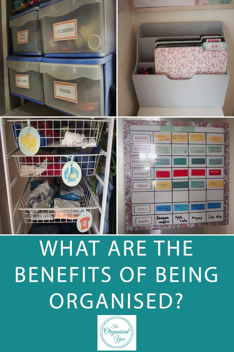benefits of being an organised person