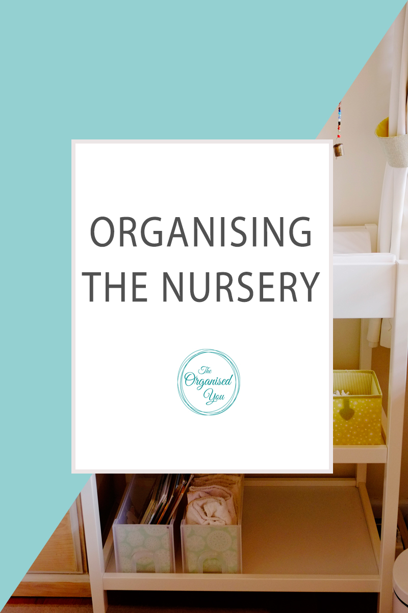 Organising the Nursery - making changes to the nursery can be an emotional experience, but as your baby grows up and goes through different stages, their needs will change too! Sometimes a small , quick organising project is all you need to feel back on top of this room. CLick through to read the full post!