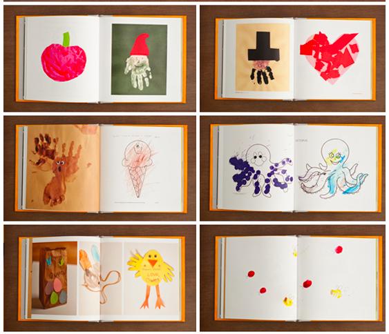 A photo book of artwork