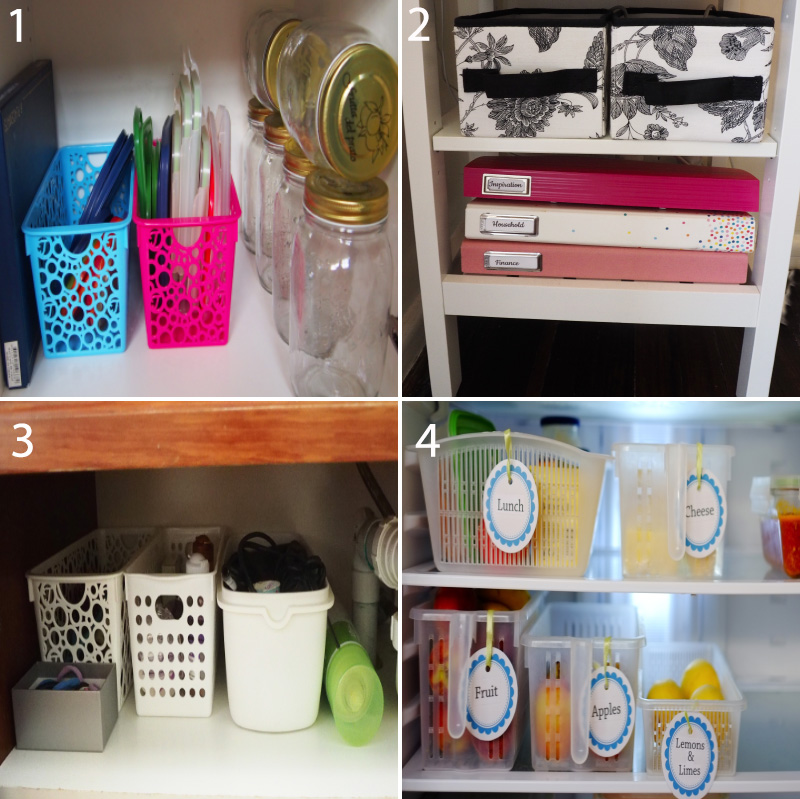 Pull-out baskets are a fantastic storage solution because you can easily pull them out to grab what you need, making everything accessible and organised. Bonus points for handled baskets!