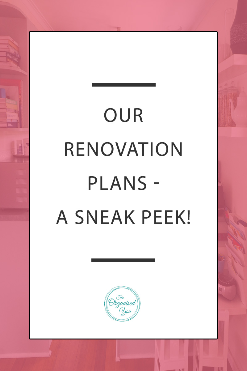 Our Renovation Plans: A Sneak Peek! - doing a home renovation is an exciting but stressful project to undertake! This post details the plans we have for our upcoming renovation, including knocking down walls, exposing a ceiling and creating a whole new level! Click through to read the full post