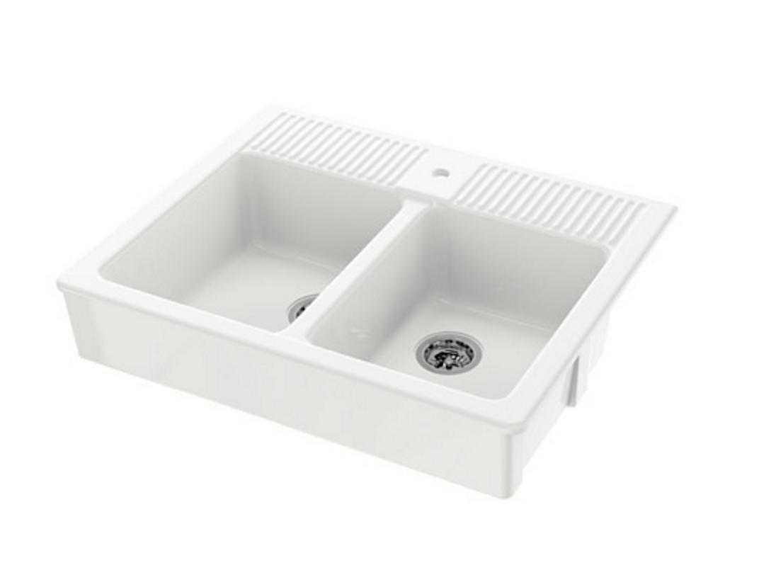 Ikea double sink
