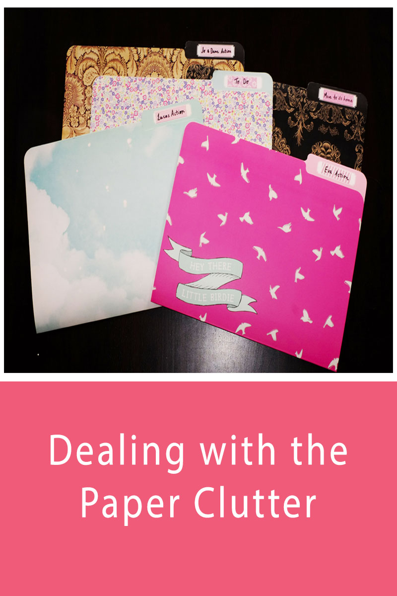 Dealing with the paper clutter