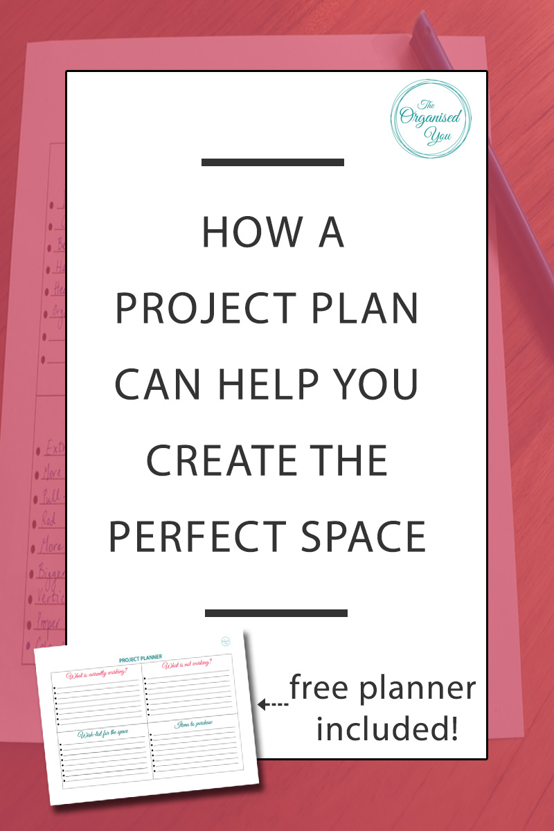 How a project plan can help you create the perfect space - if you're planning a home project, be it a room makeover, a kitchen overhaul, or even just re-organisation of a cupboard, it also helps to come up with a project plan. I'm sharing our plan for our new laundry space, as well as a FREE project planner for any upcoming project you may have. Click through to grab your copy and see how to create a project plan