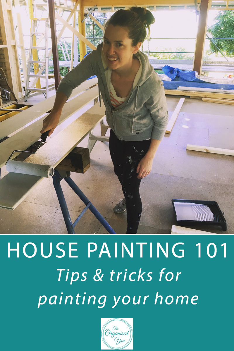 House Painting 101: Tips & tricks for painting your home - if you've got a painting project at your home, whether you're painting the exterior or interior, there are some tricks of the trade to keep in mind to make the project easier and less time-consuming. Here's a round-up of all the things I've learnt over the years when it comes to painting! Click through to read or pin for later
