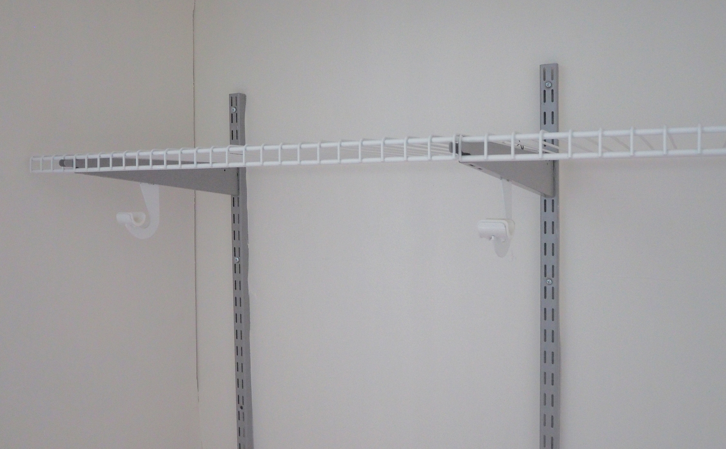 Wardrobe shelf - The Organised You