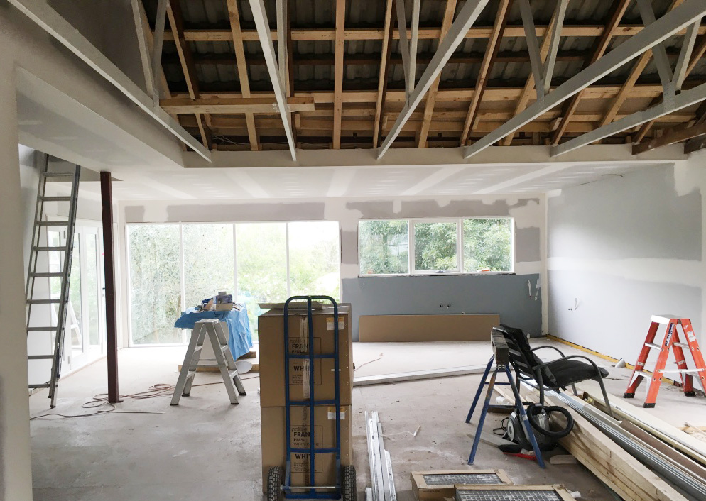 Home renovation - getting excited about the changes to our new space - The Organised You