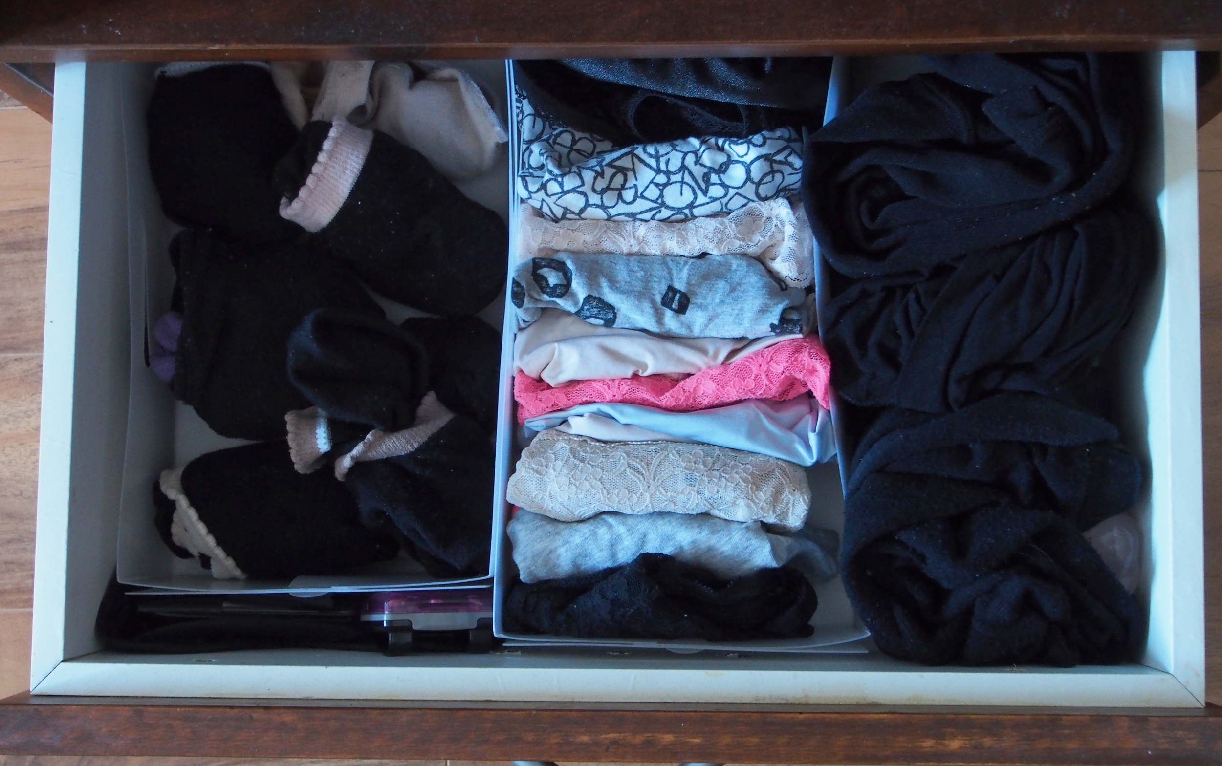 drawer dividers for underwear and socks