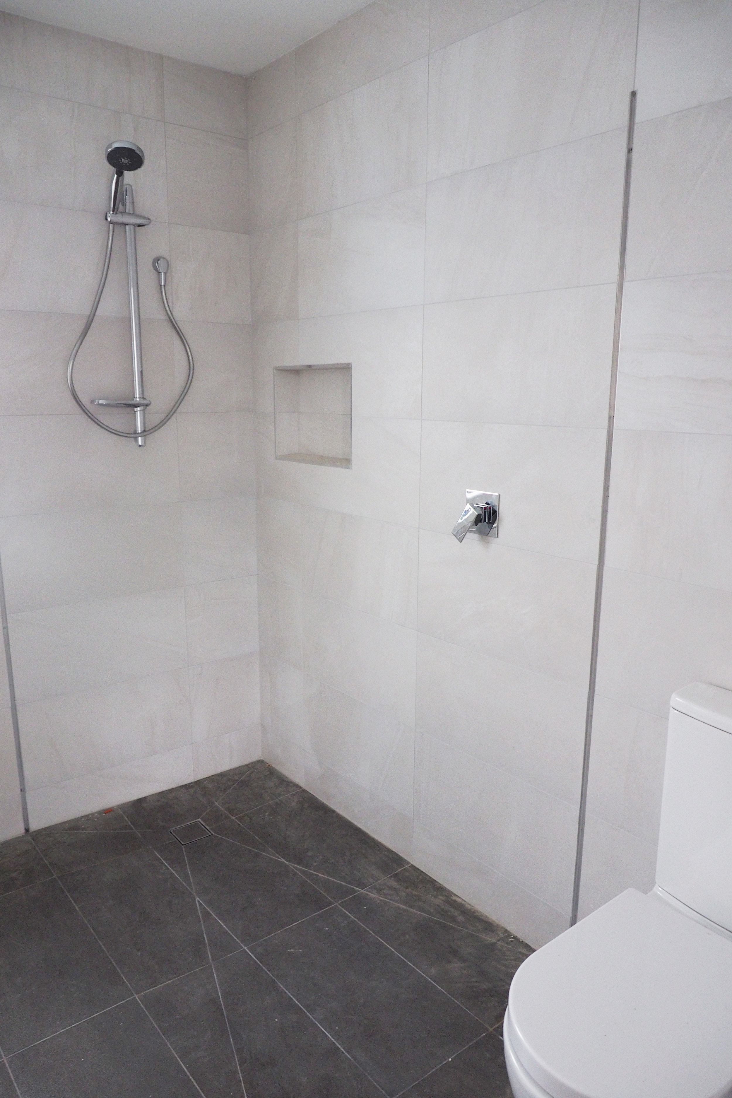 New bathroom in our newly renovated home - The Organised You