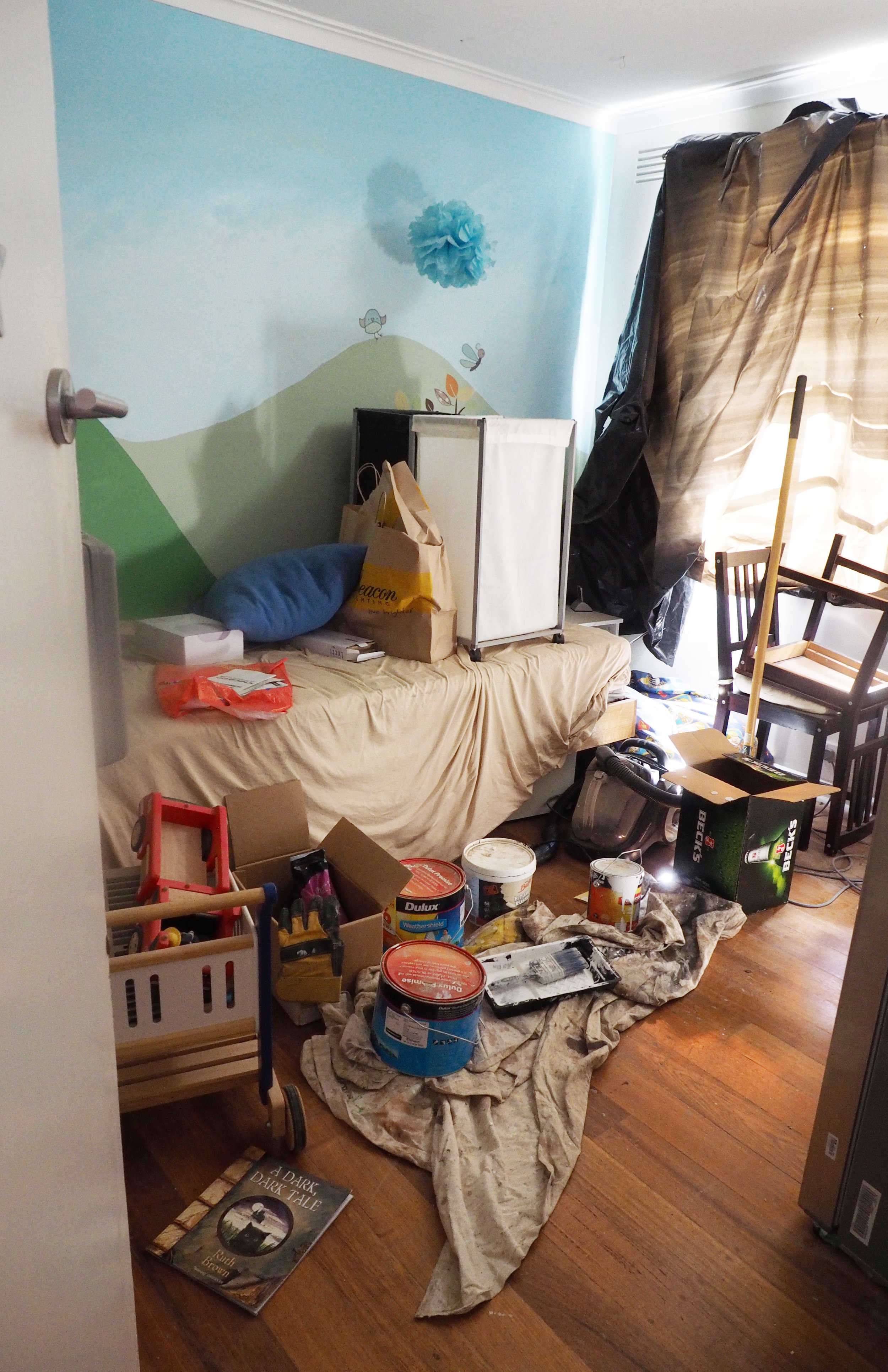 Renovation realities with mess in every room - The Organised You